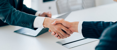 Personalarbeit Handshake